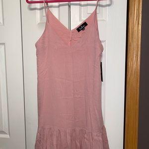 Lulus Pink Mini Dress